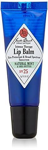 Jack Black Intense Therapy Lip Balm SPF 25, Natural Mint & Shea Butter 7 g