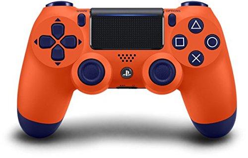 Manette Dual Shock 4 V2 pour PS4 - Sunset Orange