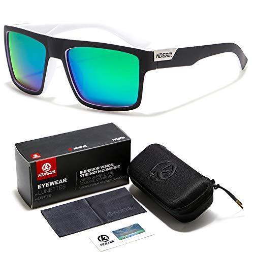 All Black Sports Sonnenbrillen Europa und die Vereinigten Staaten Herren Polarisierte Brillen Driving Sonnenbrillen Verpackung zu senden (B18 Brillen Set 1 Stück),C6