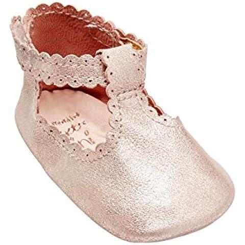 next Para Bebés Niñas Zapatillas Patucos De Piel Tira En El Empeine (Niña Pequeña)