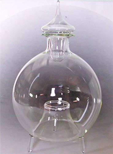 Mega Große Fliegenfalle Insektenfalle Wespenfalle Glas stehend mit Glasstopfen Qualität