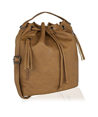 Kleio Casual Sling Bucket Bag with a drawstring for Girls