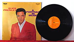 Elvis Presley - A Portrait In Music - RCA Victor - SRS 558