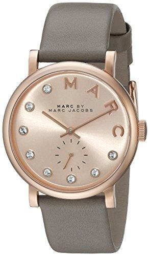 Marc by Marc Jacobs Women's MBM1400 Baker Quartz Analog Grey Watch