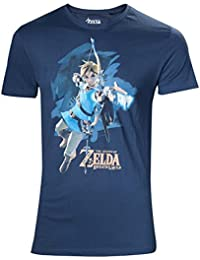 Zelda Breath of the Wild T-shirt – M LINK avec flèche