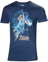 Zelda Breath of the Wild T-shirt–M LINK avec flèche