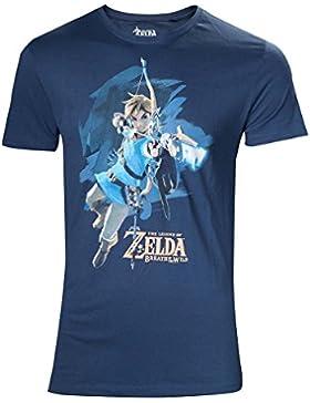 Zelda Breath of the Wild T-Shirt -L- Link mit Pfeil