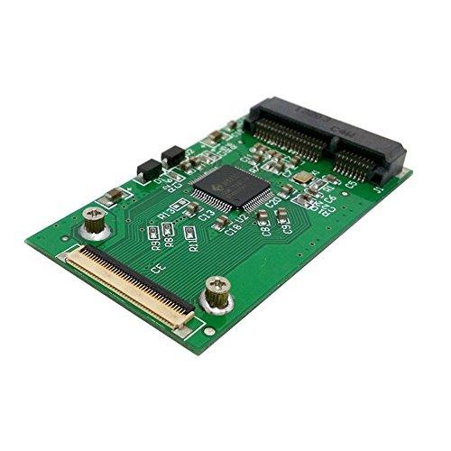 MINI PCI-E SSD mSATA 40 Tarjeta adaptador ZIF Pin