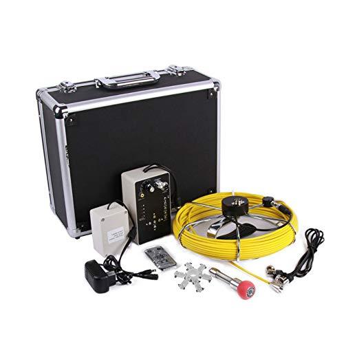 TLgf Rohrinspektionskamera, 7 Zoll IP68 Wasserdichte HD-Kamera 50M industrielles Endoskop Autoreparatur Klimaanlage Abwasser Straße elektronische Augendetektor
