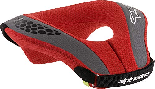 Alpinestars Sequence Youth Neck Roll Nero Rosso S/M