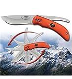 Outdoor Edge Uni Swing Blaze Klappmesser-SWINGBLAZE (Orange) -Klingenlänge: 9,14 cm, Mehrfarbig, 90 mm