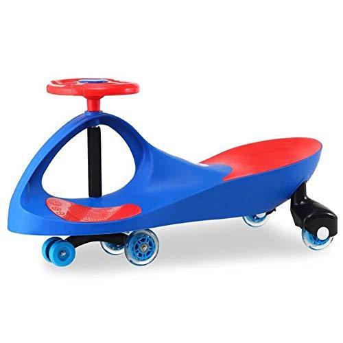 Yyz Swing car Trikes Girl Kinderspielzeug-Kinder-Kinder-Roller Twist Auto blinkende Mute-Rad-Musik Last trägt 100kg 1-3 Jahre altes Geschenk - Roller 3-rad-power