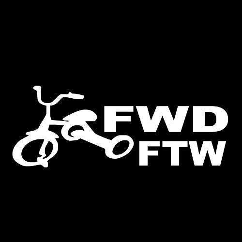 SPA Yellow : Fwd Ftw Front Wheel Decal Funny Car Vinyl Sticker Window Euro Jdm Racing Turbo