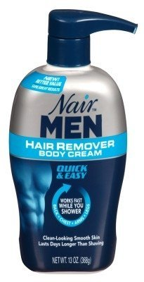 Nair Hair Remover Men Body Cream 13oz Pump by Nair