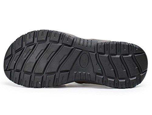 2017 sandali di estate degli uomini dei sandali di Baotou traspirante pantofole in pelle di grandi cantieri 2
