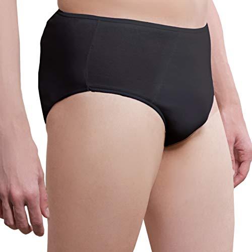 ✅ Herren Einweg Unterhosen aus Baumwolle - 5er Pack - Super Premium Qualität EinwegUnterwäsche Einwegslips Einmalslips Einmalunterhosen Einmal Unterwäsche Einweg Unterwäsche für Krankenhaus und Reise (Saugfähige Einweg-unterwäsche)