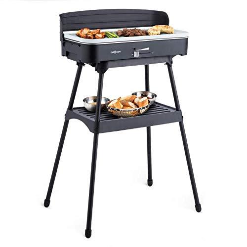 OneConcept Porterhouse - Grill électrique, Barbecue sans fumée,...