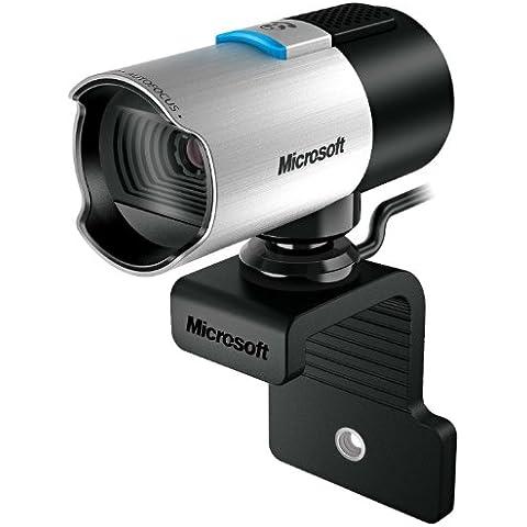 Microsoft LifeCam Studio - Webcam (1920 x 1080 Pixeles, 1080p, 720p, 2560 x 2048 Pixeles, USB 2.0, Negro, Plata,