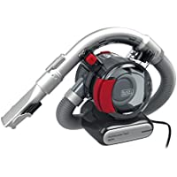 BLACK+DECKER PD1200AV-XJ 12 V Flexi Auto Dustbuster, Grey/Red