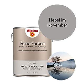 Alfred Clouth Alpina Feine Farben 5 L Nebel im November No. 02