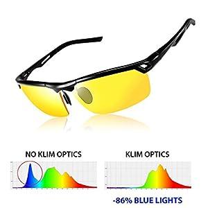 Hot Fashion Sunglasses,SGODDE Fishing Glasses,Night Vision Driving Glasses,Sports Sunglasses,Yellow Glasses Anti-glare HD Vision - UV400 Protection,For Outdoor Wayfarer, Driving, Cycling, Ski, Riding, by SGODDE