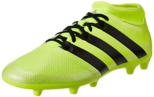 Adidas Ace 16.3 Primemesh Fg/Ag, Scarpe da Calcio Uomo, Giallo (Solar Yellow/Core Black/Silver Metallic), 44 2/3 EU