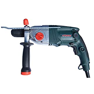 ARGES 1050W 2 RATIO PROFESSIONAL IMPACT DRILL 16MM DEPTH GAUGE AUXILLARY HANDLE