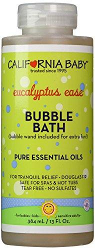 California Baby Bubble Bath - Colds & Flu, 13 oz by California Baby