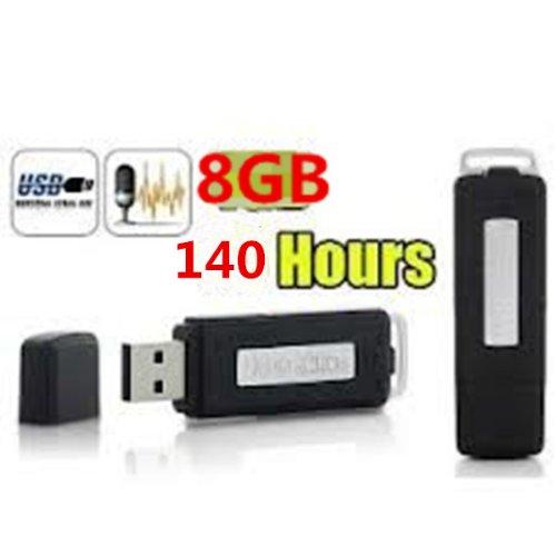Mini 8GB Digital Diktiergerät SPY SPION SPIONAGE Aufnahmegerät Audio Voice Recorder Digital Rekorder aufnahmegerät / Tonaufnahme, Diktiergerät