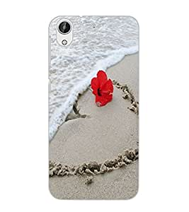 HTC DESIRE 626 GPLUS SAND Back Cover by PRINTSWAG