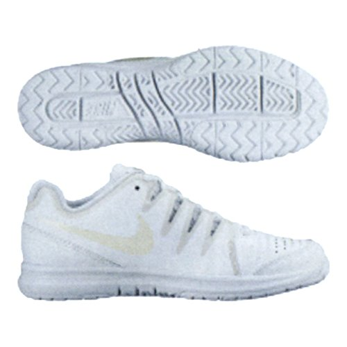 Nike Wmns Vapor Court, Scarpe da Tennis Donna, Bianco (Blanco (White/Light Bone-Pure Platinum)), 39 EU