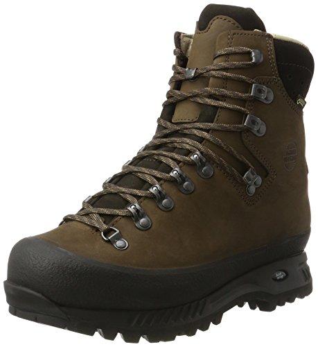 Amplia Alaska Zapatos Hombre erde Marrón Gtx Alto Caminar Hanwag Para Zq4dZwx