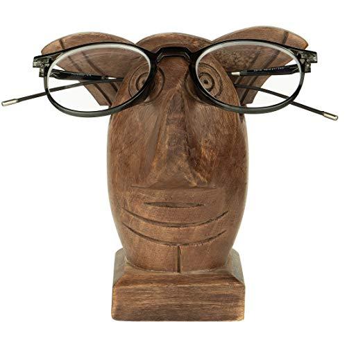 Aheli Eulenform geschnitzt Brillen Eyewear Sonnenbrille Halter ausstellungsstand für Home-Office