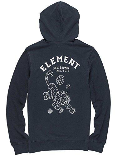 Herren Kapuzenjacke Element Tour Kapuzenjacke Flint Black