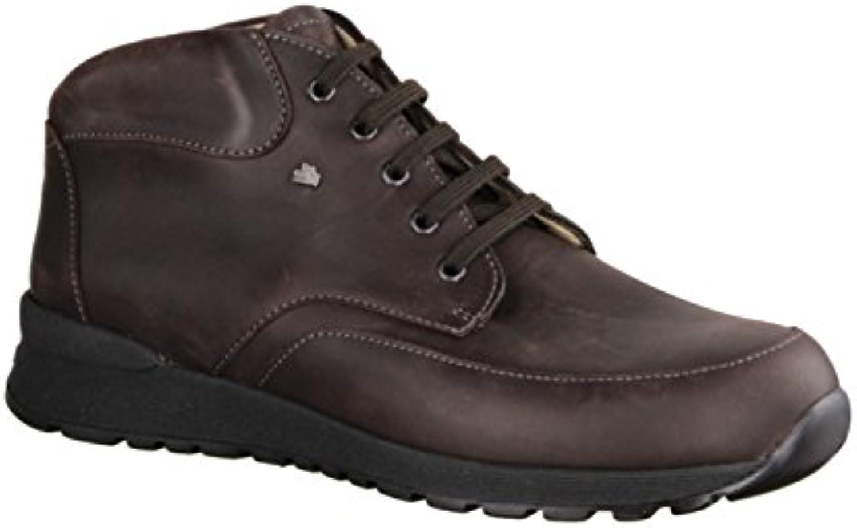 Finn Comfort Dawson 515392 - Botas de Piel para hombre marrón marrón