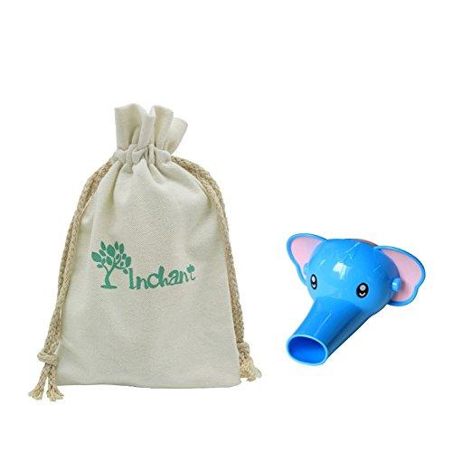 Preisvergleich Produktbild Baby-Geschenke - Hahn-Extender Elefant Stil Sink Griff Extender für Kind-Baby-Kleinkind-Handwäsche - mit Gift Cotton Tragetasche - Geburtstag / Weihnachtsgeschenk