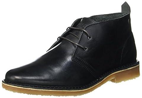 JACK & JONES Herren Jfwgobi Leather Dark Slate Desert Boots, Grau (Dark Slate), 44 EU