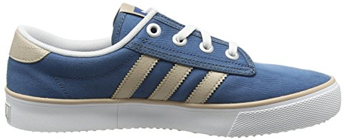 adidas  Kiel, espadrilles de basket-ball homme Bleu (Blanch Blue/Clay Brown/Ftwrr White)