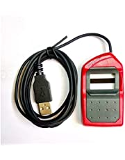 Yukonics ICONS Morpho Idemia MSO 1300 E3 USB All Purposes Biometric Device (Red)