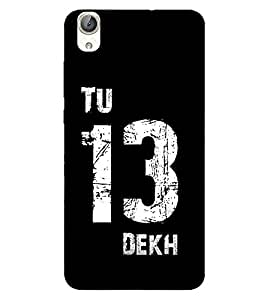 Takkloo tu 13 dekh trendy quote,black background, nice quote) Printed Designer Back Case Cover for Huawei Honor 5A