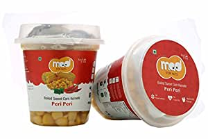Mad for Nuts Boiled Sweet Corn Kernels - Peri Peri, 225 g (Pack of 6)