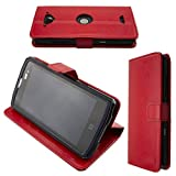 caseroxx Bookstyle-Case for Crosscall Core-X3 in red
