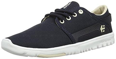 Etnies Scout, Damen Skateboardschuhe, Blau (467 / NAVY/TAN/WHITE), 35.5