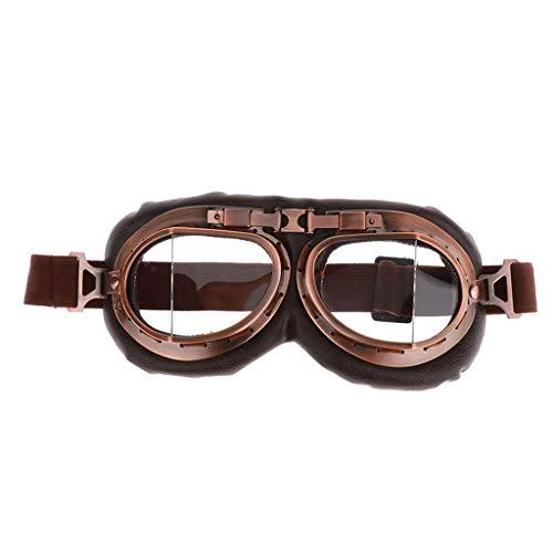 Deaman Radbrille Motorradbrille Schutzbrille Überbrille Sonnenbrille Helmbrille Uv-Schutz, mit Nachtsicht Funktion Schutzbrille