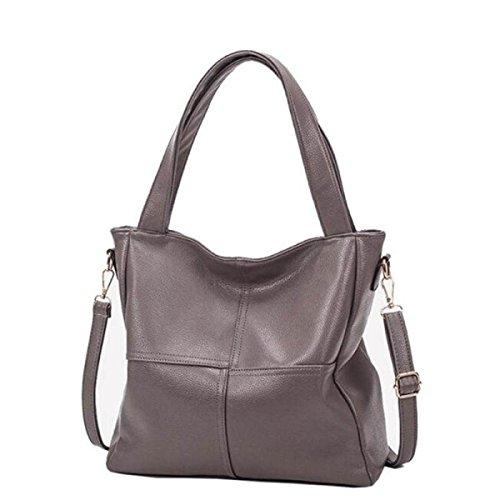 Autunno E Inverno Borse A Spalla Nuova Borsa Grande Borsa A Tracolla Messenger Hand Bag Donna Khaki