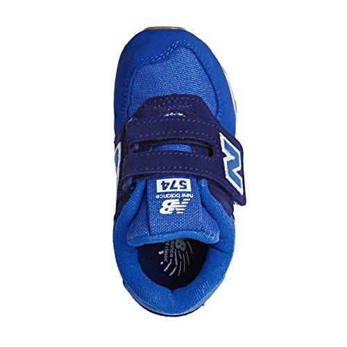 New Balance Kv574esi M Hook and Loop, Scarpe da Ginnastica Basse Unisex – Bambini Blue