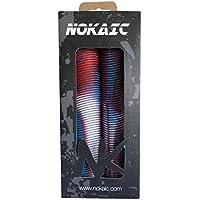 Nokaic NKGP-18002 Puños, Blanco (rpkp/Sky), Talla Única