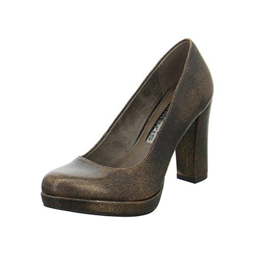 Tamaris 1-22435-27 Scarpe Col Tacco da donna gold,bronce