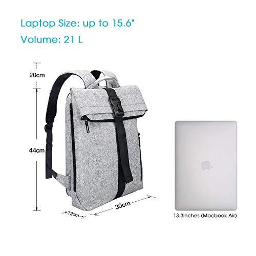 design di qualità c04fd 710f1 Zaino REYLEO da uomo, Zaino sportivo da uomo per laptop da ...