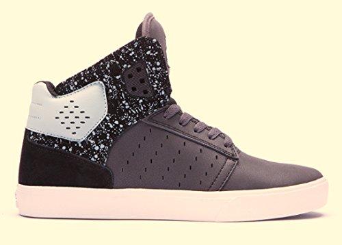 Supra ATOM  Unisex-Erwachsene Hohe Sneakers Schwarz